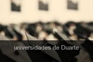 Universidades de Duarte